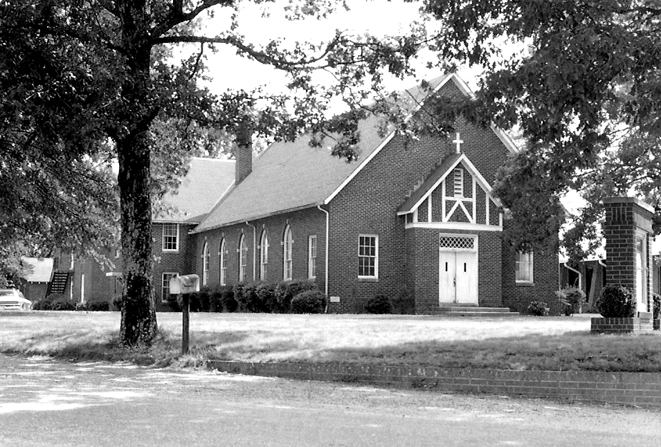 The old Triplett United Methodist Church